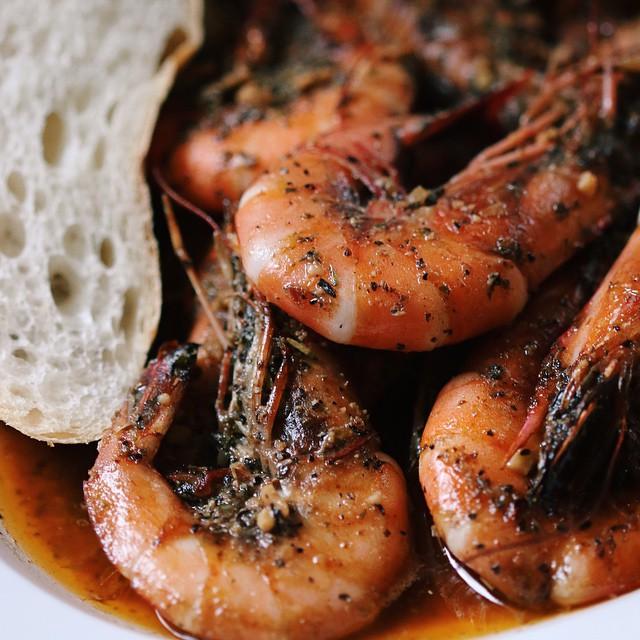 Spicy Barbecue Shrimp