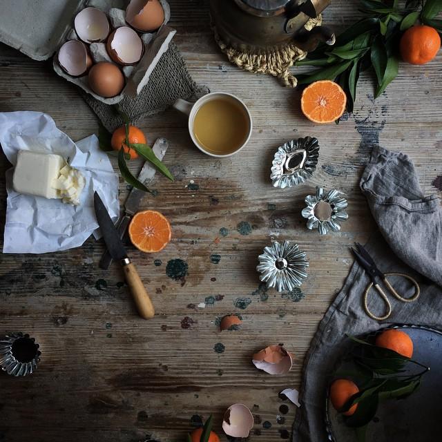 Winter Citrus Meringue Tartelettes