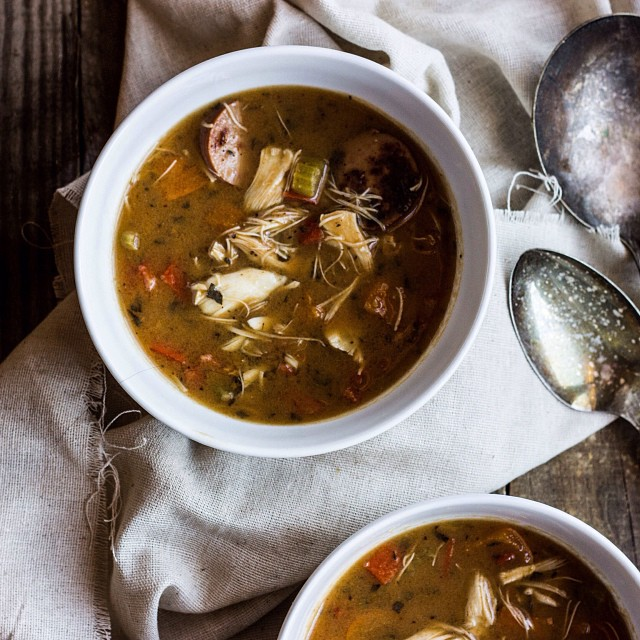 Spicy Crab Gumbo is up on the blog! The ultimate winter warming meal!