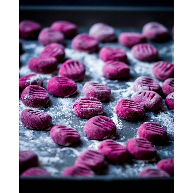 Beetroot And Potato Gnocchi