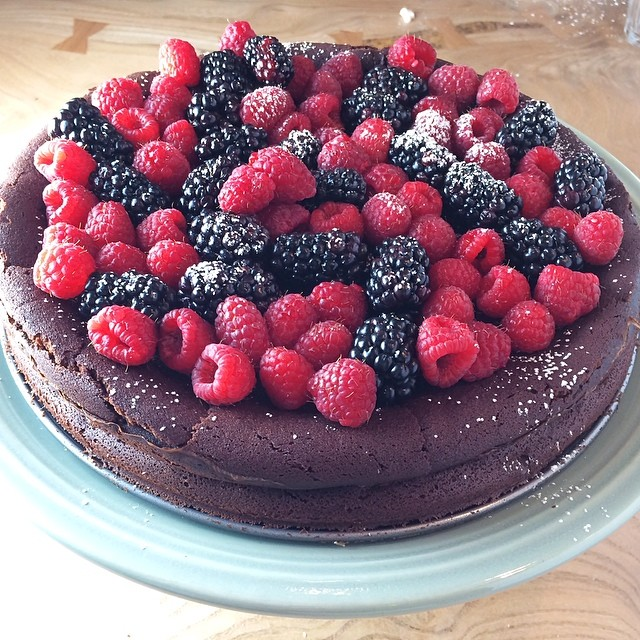 Dark Chocolate Flourless Torte