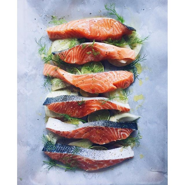 Broiled Salmon With Fennel And Citrus