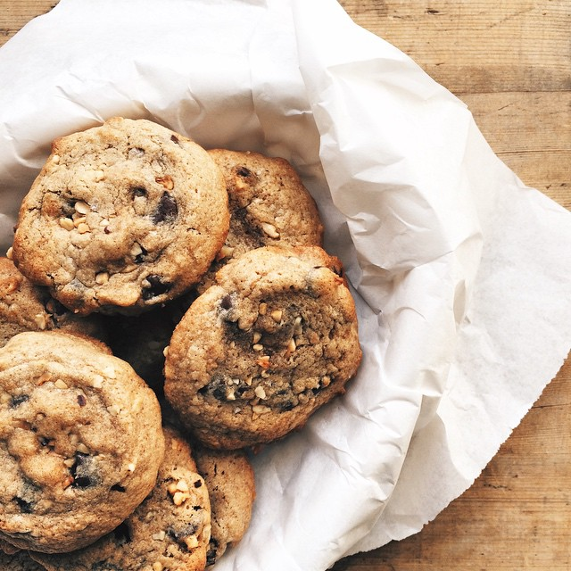 Kamut Maple Chocolate Chip Cookies