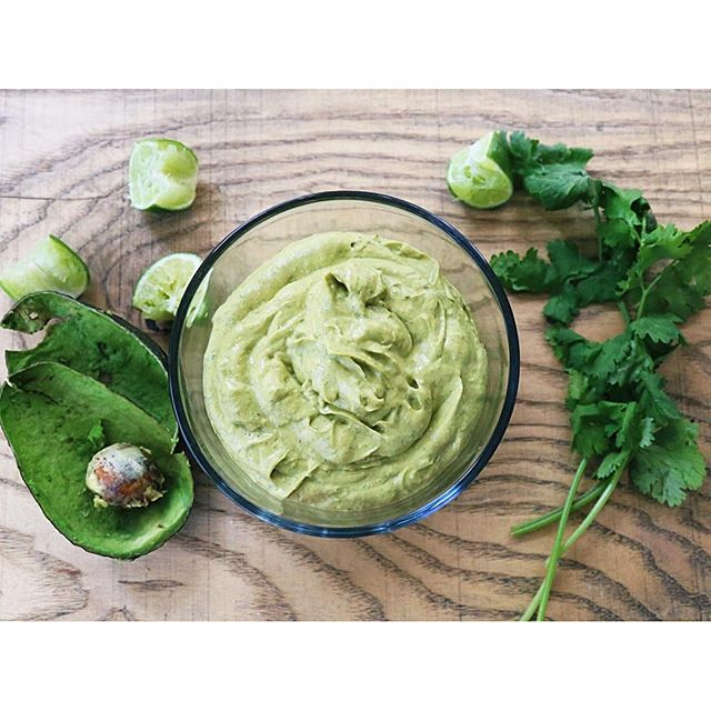 Cilantro Lime Avocado Sauce