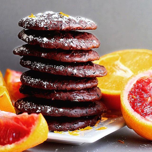 Chocolate Orange Cookies (gluten-free)