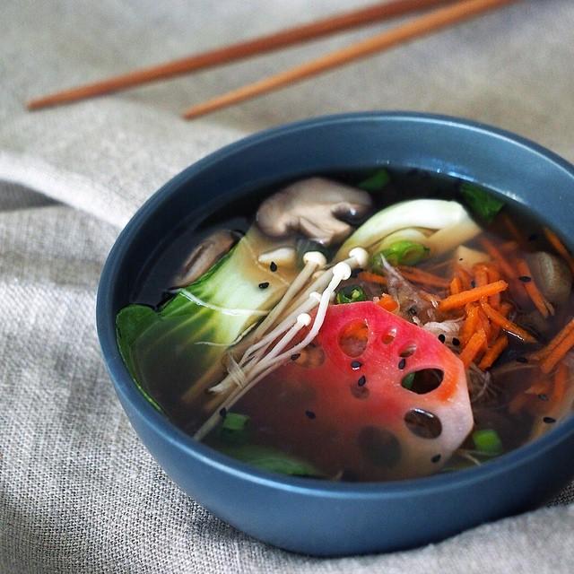 Ginger & Daikon Miso Soup