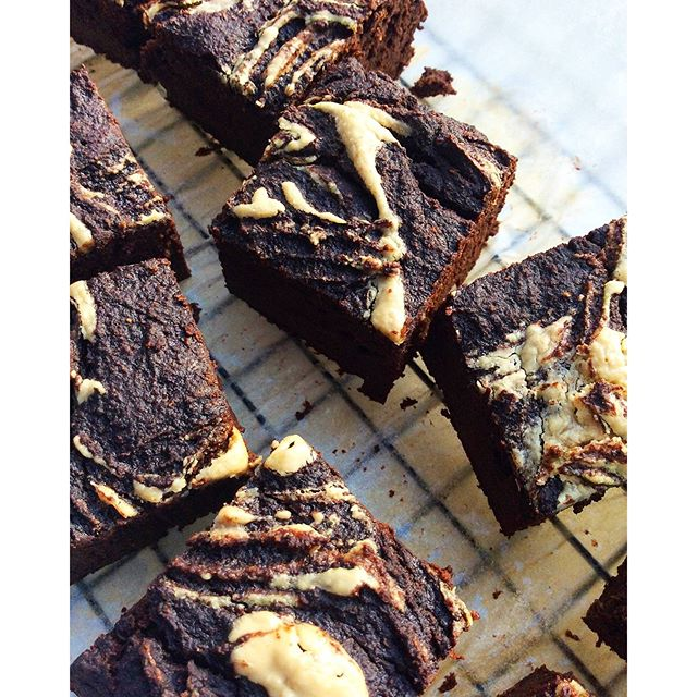 Banana Brownie - free from sweetener, dairy, gluten, grains, nuts and eggs AND contains hidden kale…