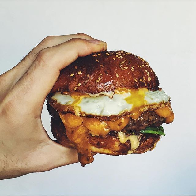 Burger With Fried Egg And Special Sauce By Danseidman Quick Easy Recipe The Feedfeed