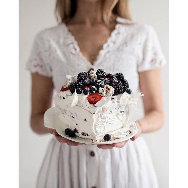 Vegan Summer Pancake Cake