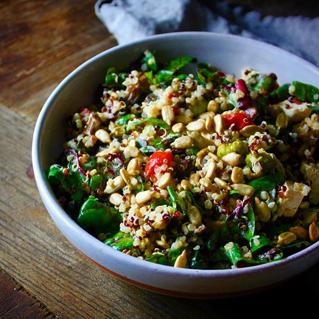 Swiss Chard Quinoa Salad By Bourbonandbrownsugar Quick Easy Recipe The Feedfeed