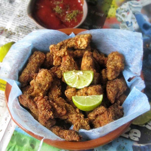 Za'atar And Sumac Chicken Fingers