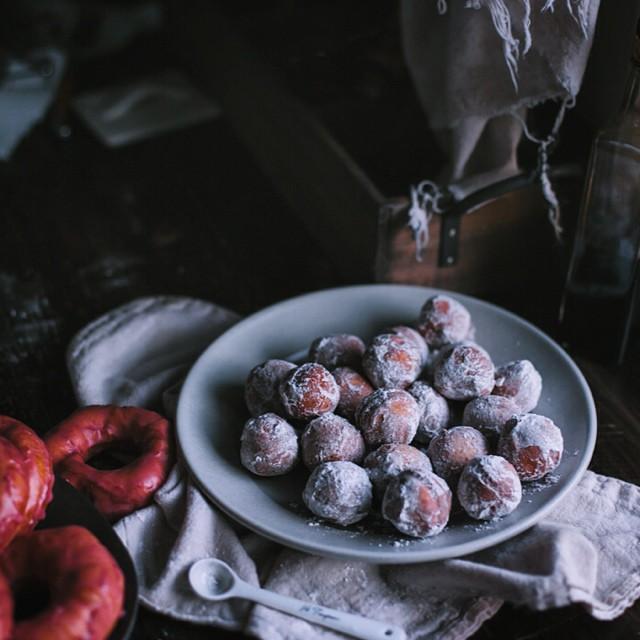 Cinnamon Sugar & Rosemary Donut Holes
