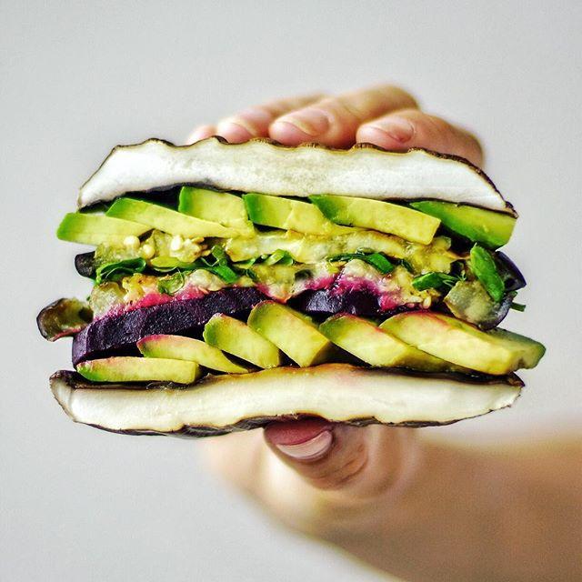 Grilled Portobello Mushroom Burger By Culinarian Quick Easy Recipe The Feedfeed