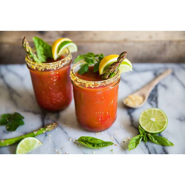 Pickled Asparagus Bloody Mary