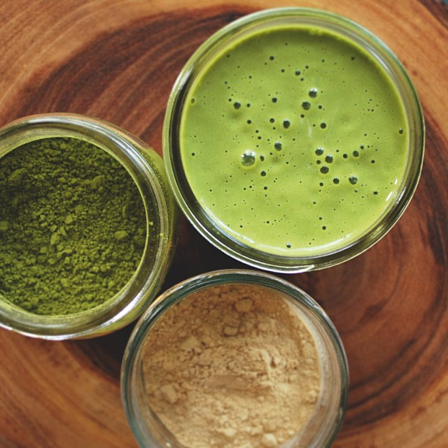 Maca And Matcha Smoothie