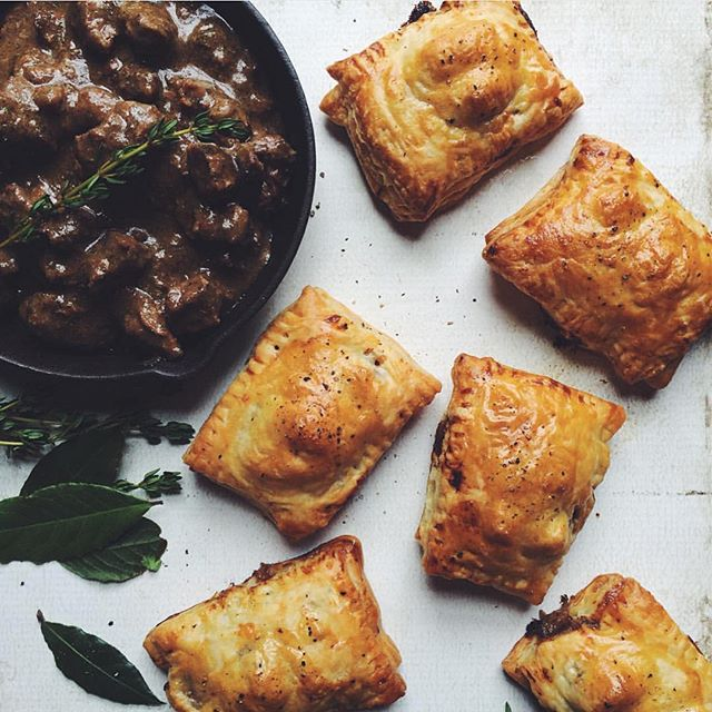 South African Pepper Steak Pies recipe | The Feedfeed
