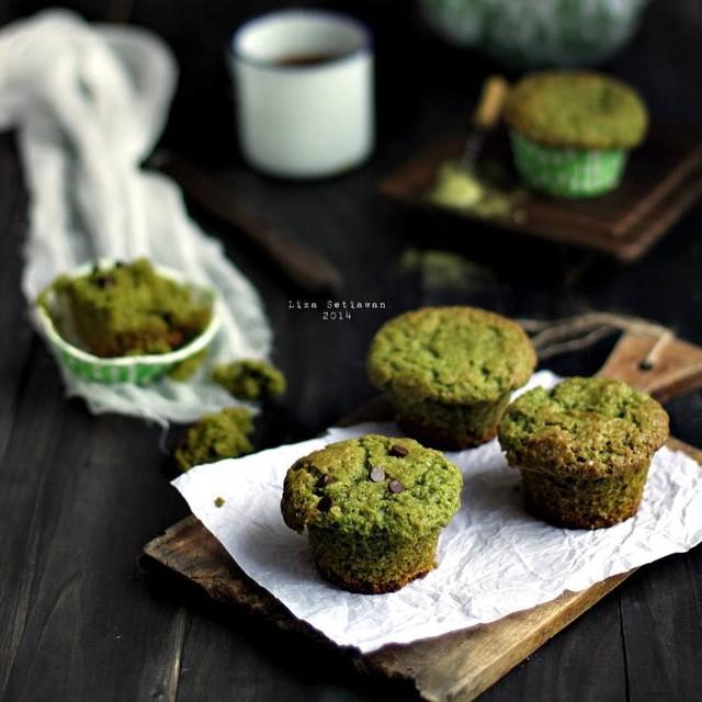 Moist Matcha Green Tea Muffin