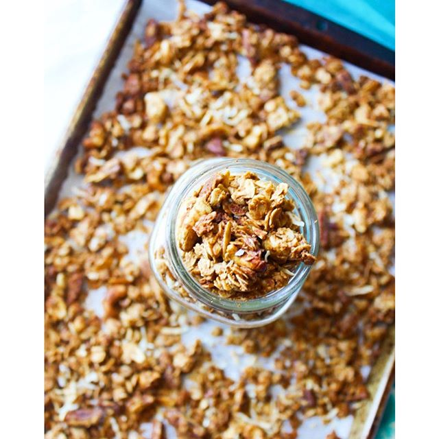 I've decided granola is the BEST snack food ever because 1. It's so versatile... You can put it on…