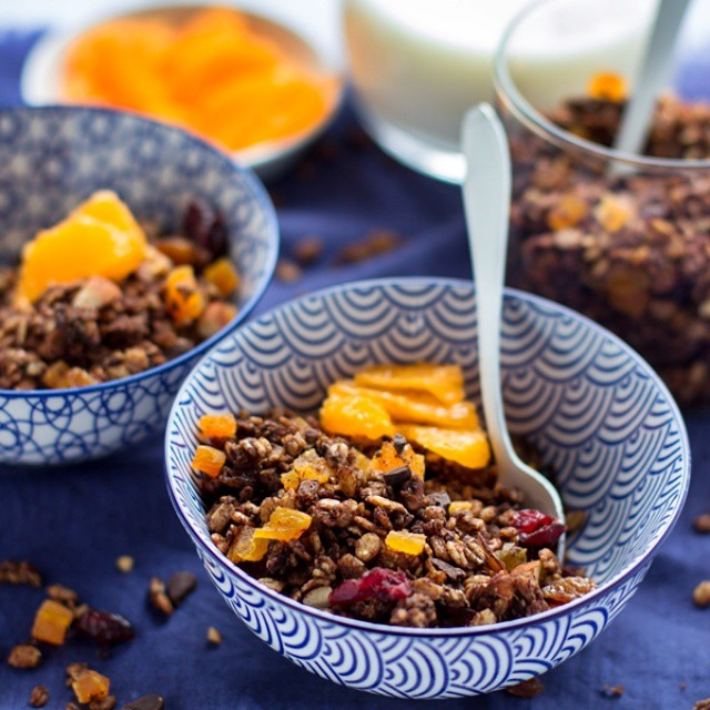 Winter Cinnamon Granola