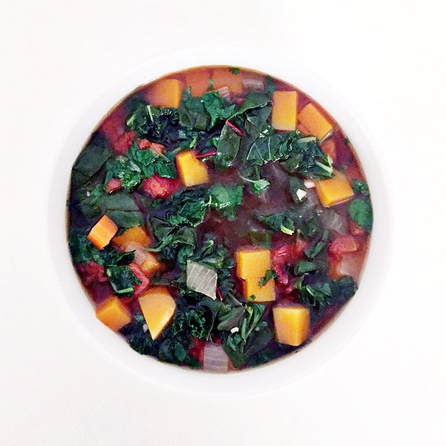 healing soup! I'm making a version of this soup week after week. this one is souped up with a rich…