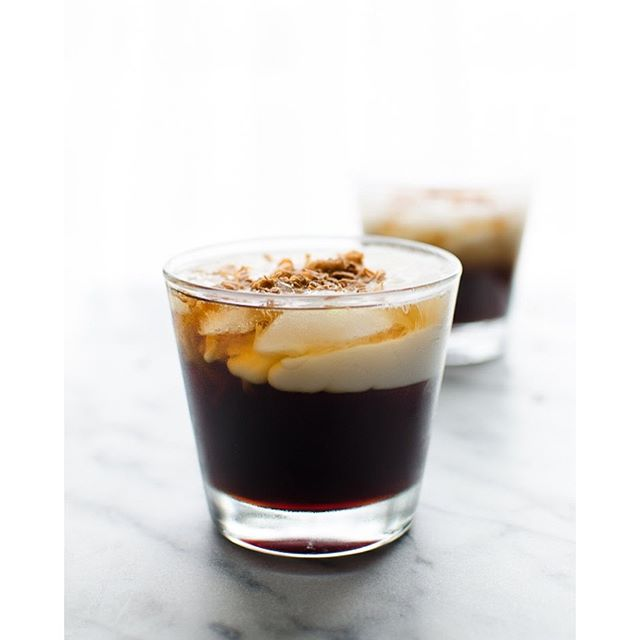 Try this fun spin on a classic from the sixties...Toasted Coconut White Russian.