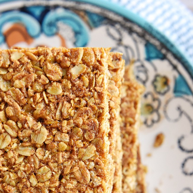 Say buh-bye to store-bought granola bars...these Oats & Honey Granola Bars are all-natural, slightly…