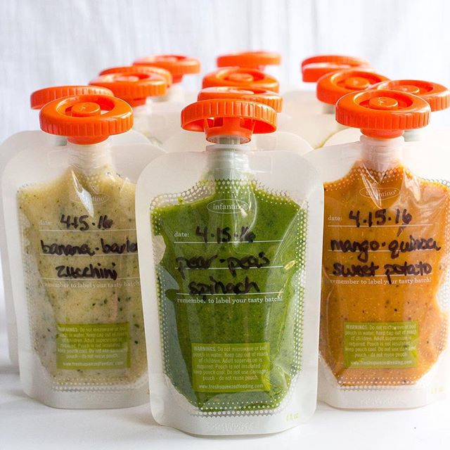 Homemade baby food pouches are easy to make and a great way to serve healthy fruits, vegetables and…
