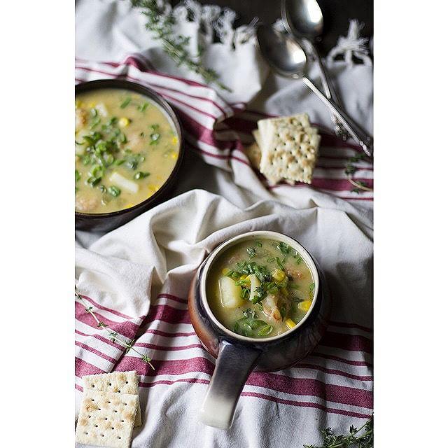 Healthy Shrimp And Corn Chowder