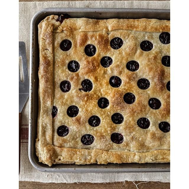 Cranberry Slab Pie