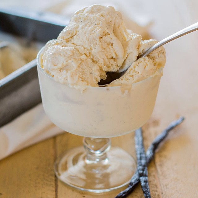 Yogurt fermented for 24 hours also makes this ice cream lactose free and yummy for the tummy.
