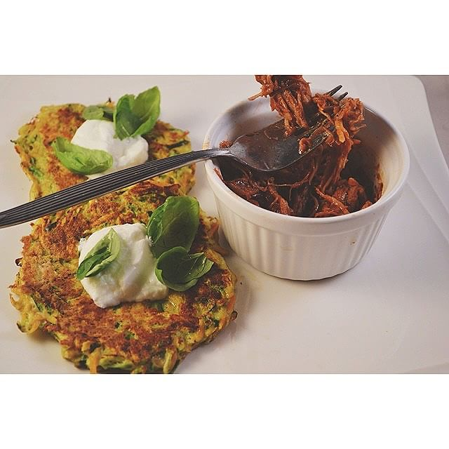 Sweet Potato And Zucchini Fritters