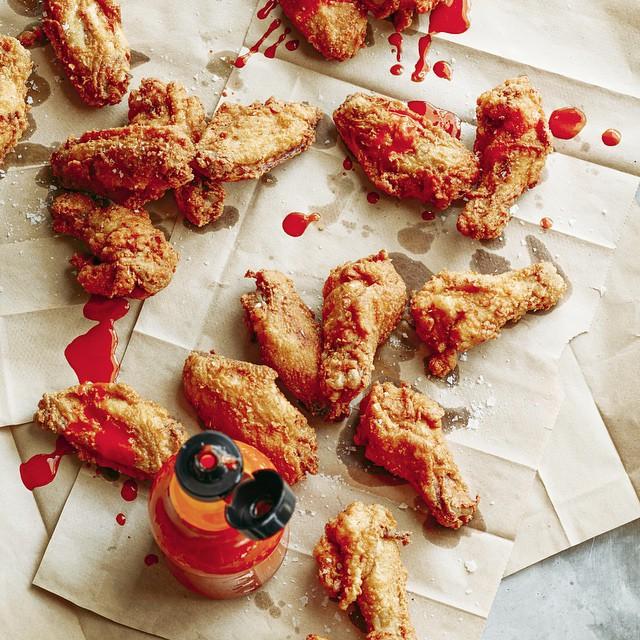 Buttermilk-brined Fried Chicken Wings