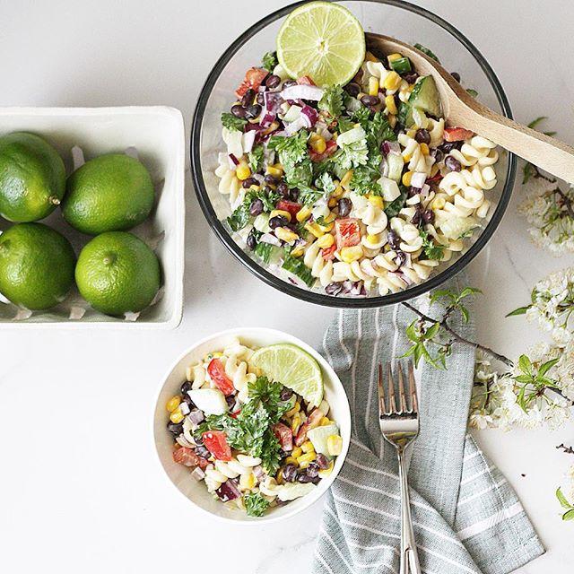 Creamy Corn And Blackbean Salad