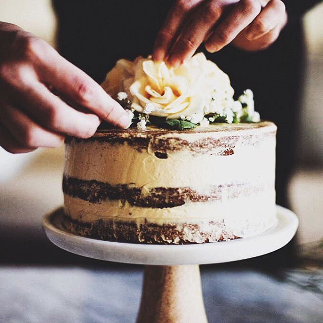 Salted Honey And Orange Blossom Naked Cake Recipe  The -7419