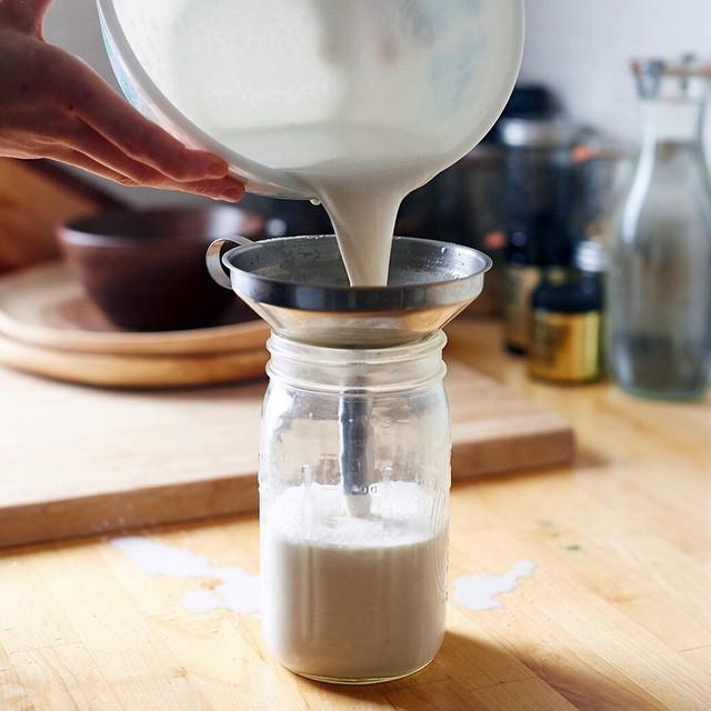 Recipe: <br> <br> makes 3 cups<br> <br> Equipment: <br> <br> High speed blender<br> Nut milk…