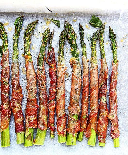 recipe: asparagus prosciutto parmesan [7]