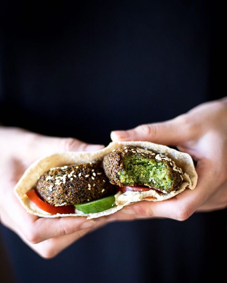Egyptian fava bean falafel with fresh herbs thefeedfeed egyptian fava bean falafel with fresh herbs forumfinder Gallery