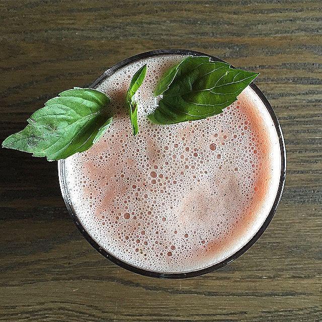 Palest Pink Spicy Citrus Smoothie