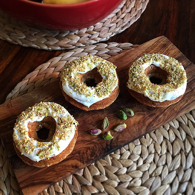 Orange And Cardamom Baked Doughnuts