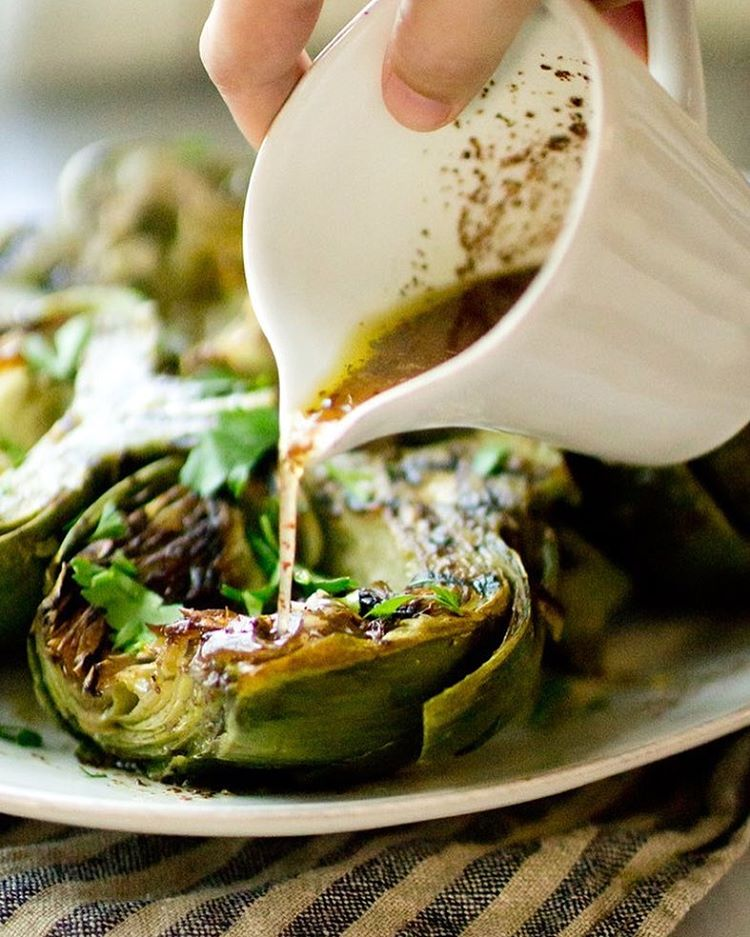Grilling artichokes is the perfect method to bring out the tender sweetness of artichokes. Top it…