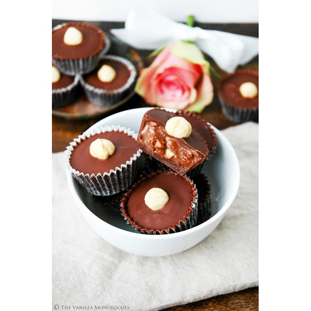 Chocolate Nougat Cups