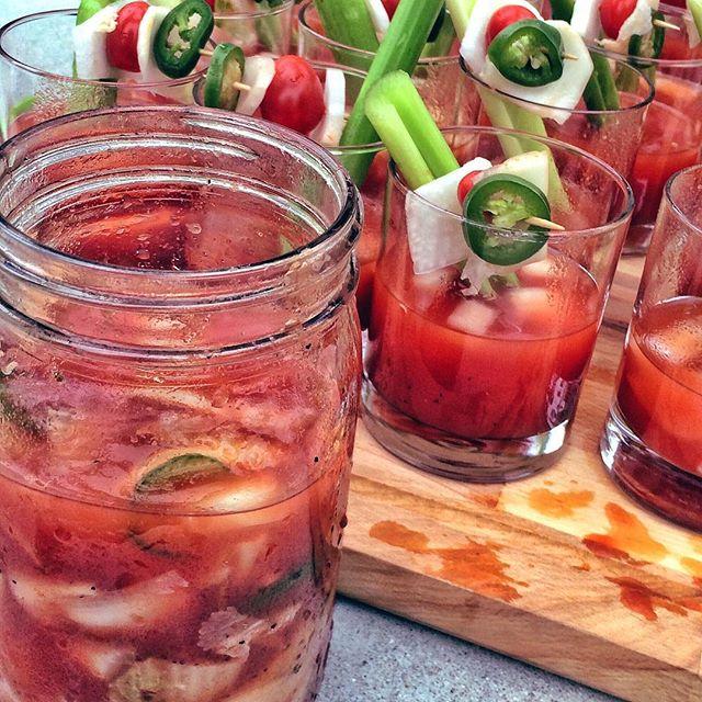 Smoky Kimchi Bloody Mary