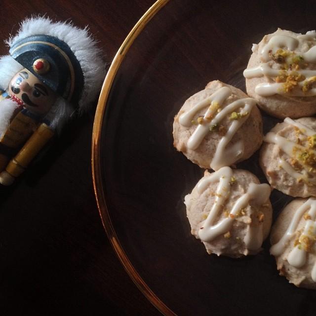 Pear Pistachio Cookie