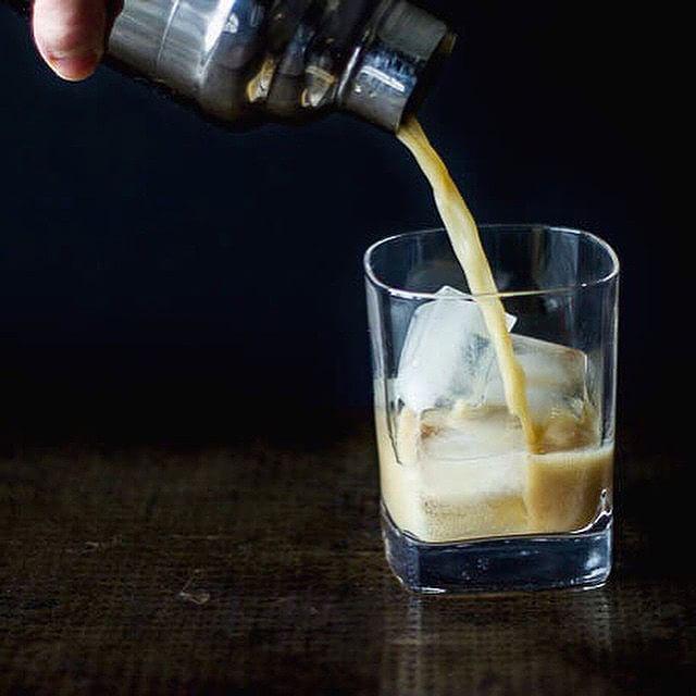 Vegan Bourbon Milk Punch