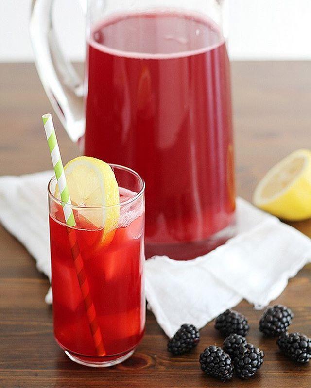 Fresh Blackberry Lacto Fermented Lemonade