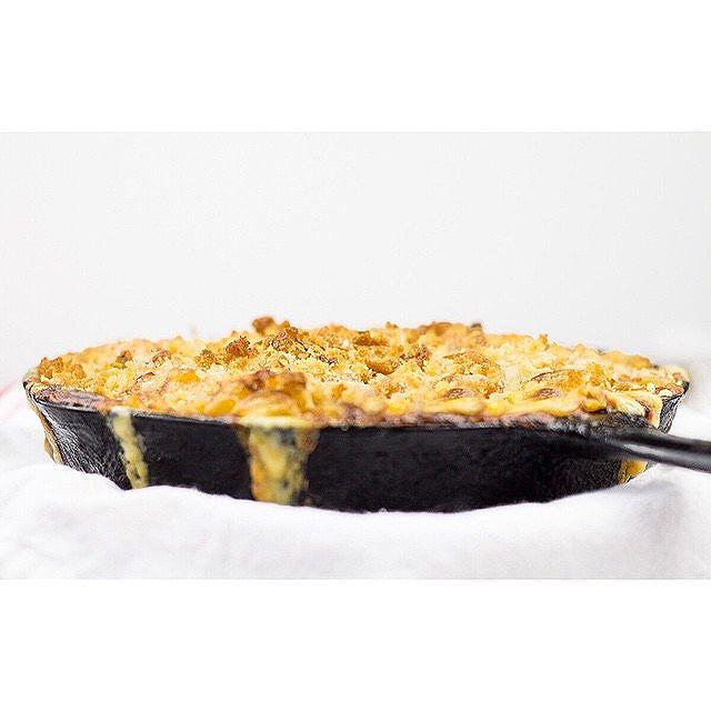 Skillet Baked Mac N Cheese