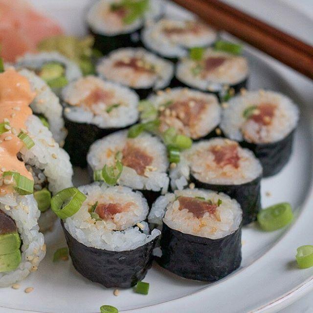 Spicy Tuna Roll Sushi