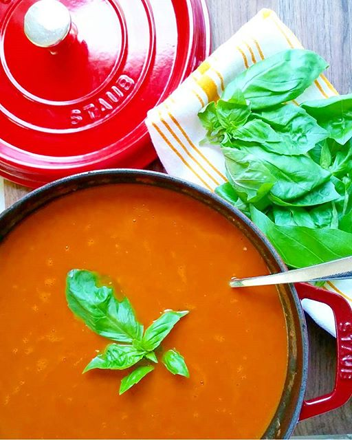 Homemade Tomato Soup on a rainy day is perfect for every season! Have you made your own? Ours is…