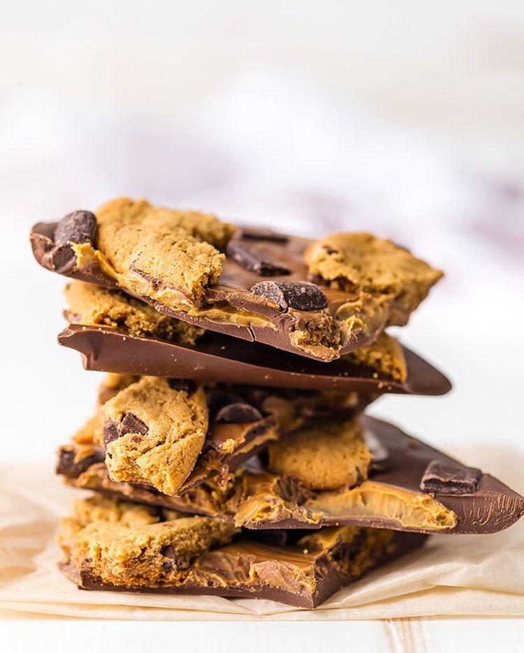 Chocolate Peanut Butter Bark Recipe
