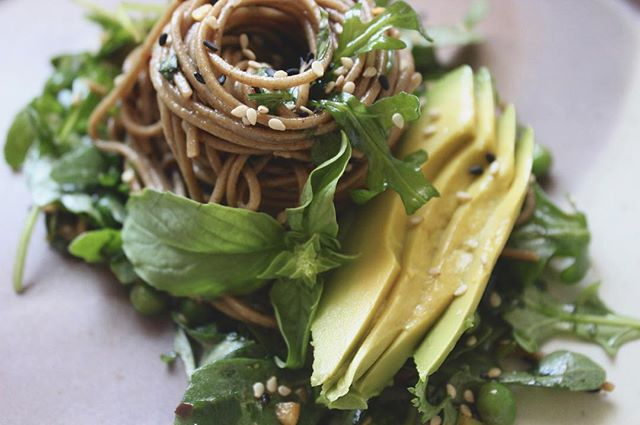 Warm summer soba salad: what is buckwheat (not a wheat) + why the stuff is special, for mind, body…